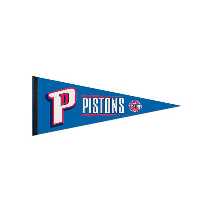 new arrival 7e73d 5d28f Detroit Pistons Pennant