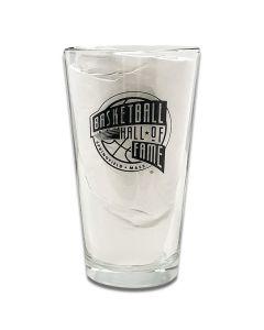 Basketball Hall of Fame Logo Pint Glass