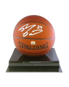 Shaquille O'Neal Signed Spalding Basketball