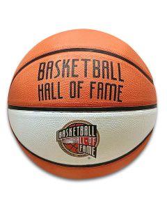 Basketball Hall of Fame Orange & White Panel Basketball