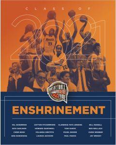 Class of 2021 Enshrinement Program