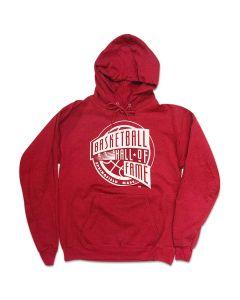 Mens Logo Red Hoodie