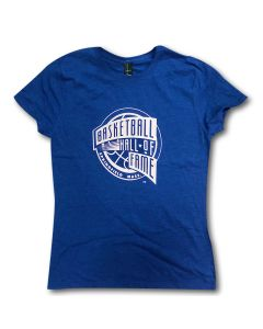 Woman's Basketball Hall of Fame Logo T-Shirt