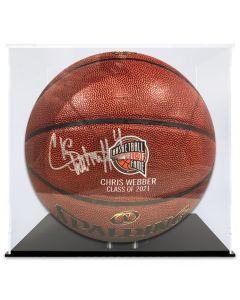 Chris Webber Autographed Basketball- 9 of 10