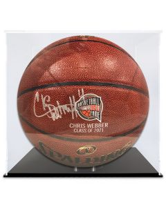 Chris Webber Autographed Basketball- 8 of 10