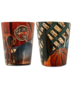 Basketball Hall of Fame Signature Shot Glass