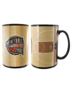 Basketball Hall of Fame Court Mug
