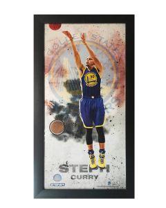 Steph Curry Game Ball Wall Art
