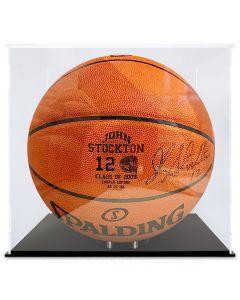 John Stockton Autographed Basketball- 26 of 30