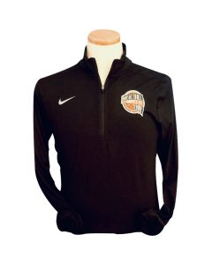 Adult Basketball Hall of Fame Nike 1/4 Zip Long Sleeve