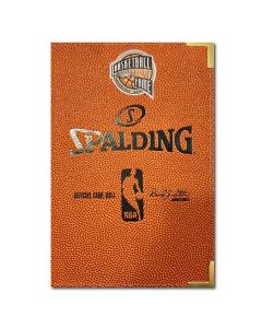 Basketball Hall of Fame Spalding Notebook