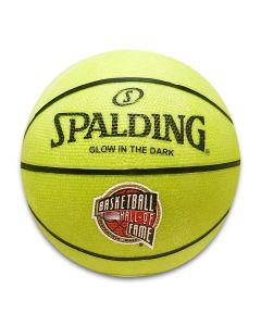 Basketball Hall of Fame Mini Glow in the Dark Basketball
