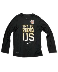Youth Try to Stop Us Nike Long Sleeve